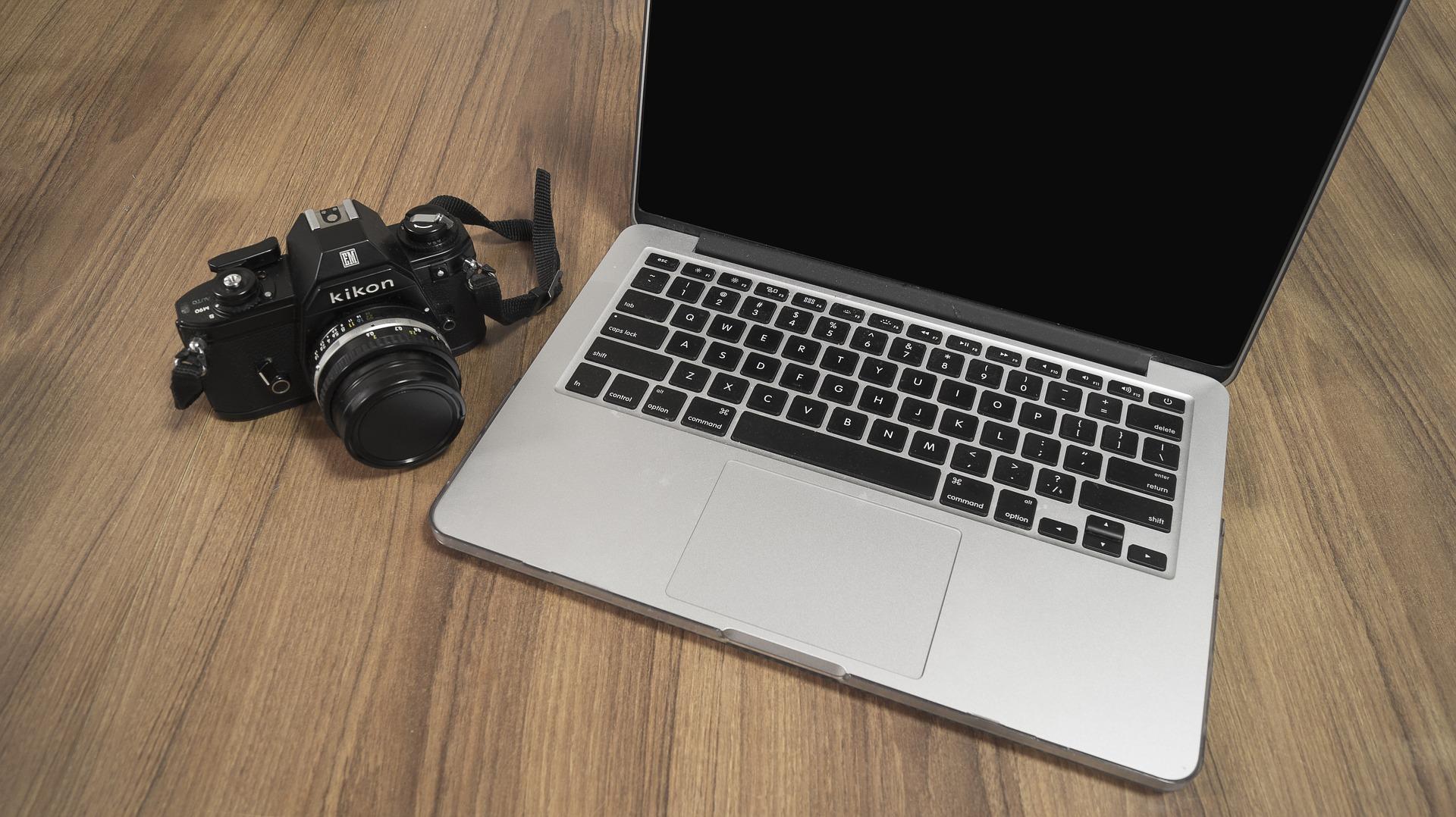カメラとPC
